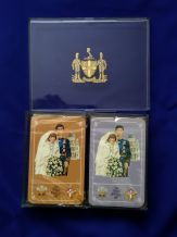 Collectible playing cards Worshipful 1981 The Royal Wedding. Prince Charles and Diana